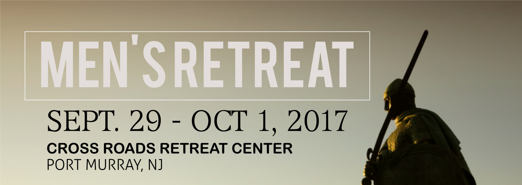 Mens Retreat 2017 Banner
